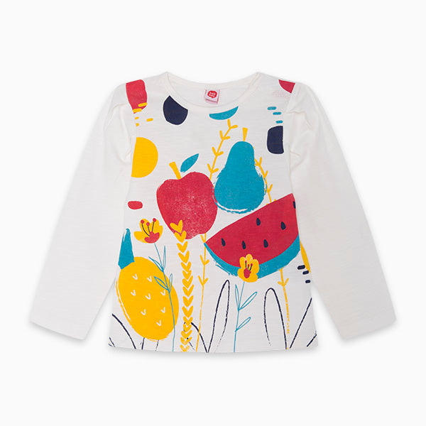 TucTuc Girl Long Sleeve Fruit Tee