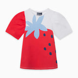 TucTuc Girl Red Strawberry Top