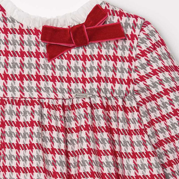 Mayoral Baby Girl Houndstooth Dress