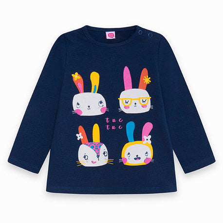 TucTuc Rabbits Girls T-Shirt