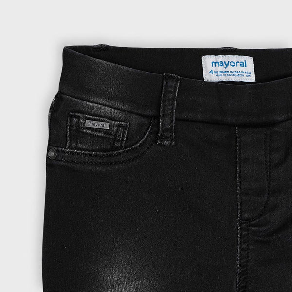 Mayoral Girl Black Skinny Jeans