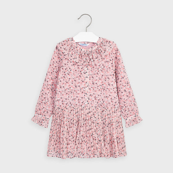 Mayoral Chiffon hearts dress