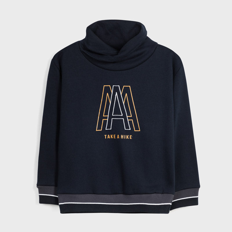 Mayoral Collar Sweatshirt