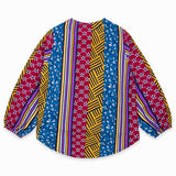 TucTuc Girls Viscose Printed Blouse