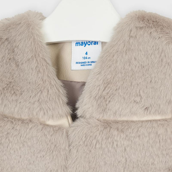 Mayoral Faux fur gilet