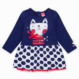 TucTuc Navy 'Cat' Dress