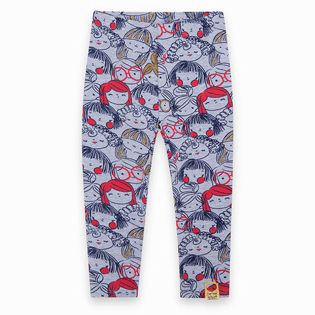 TucTuc Faces Girls leggings