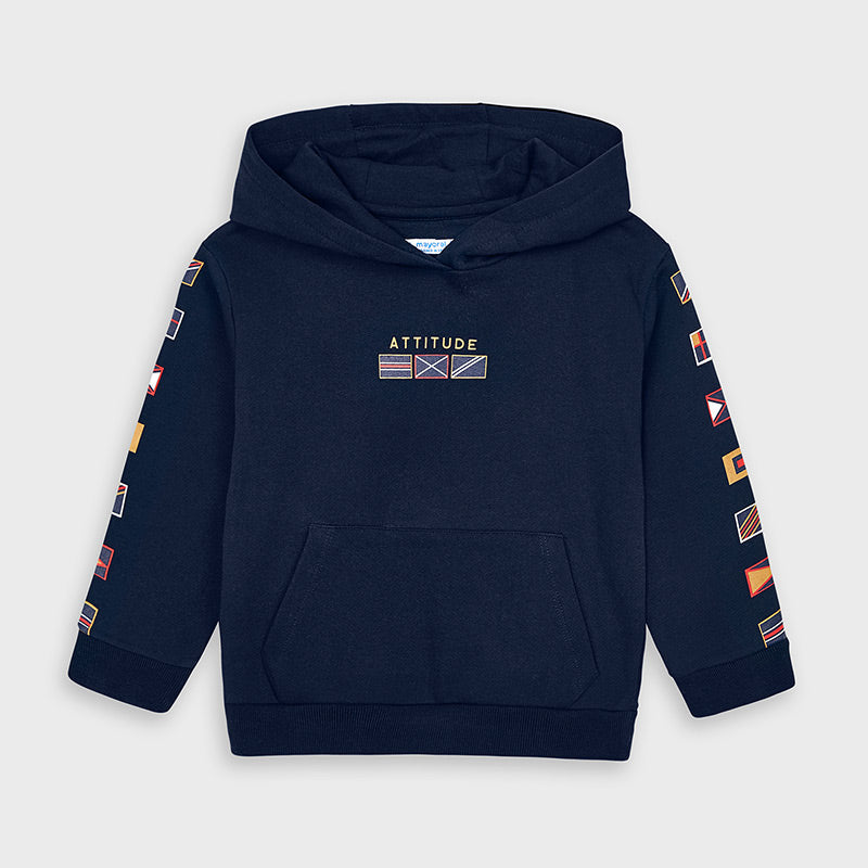 Mayoral Boy Navy 'Attitude' Hoody