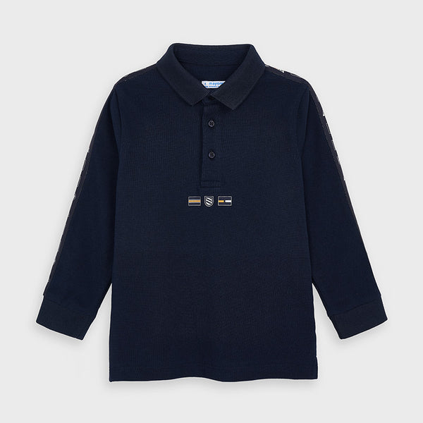 Mayoral Boy Navy Polo
