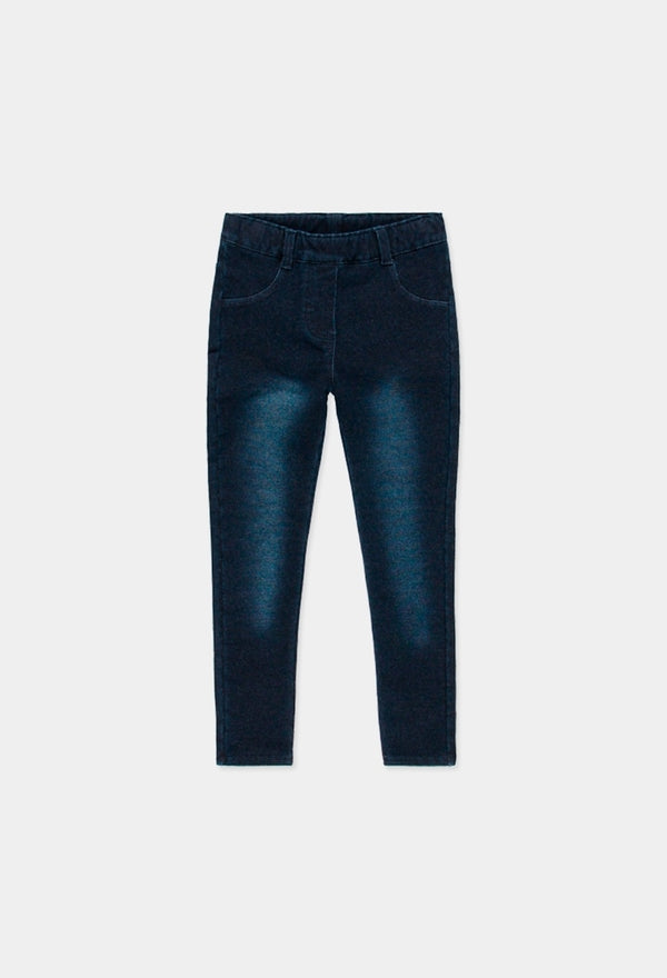 Boboli Navy Denim Jeggings