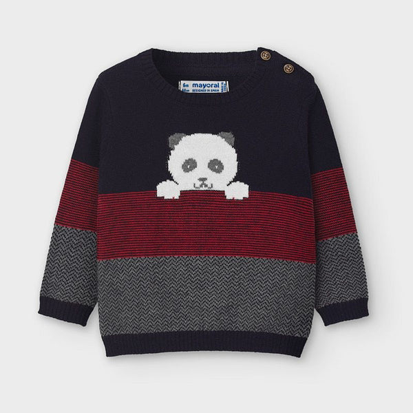 Mayoral Baby Boy Bear Sweater