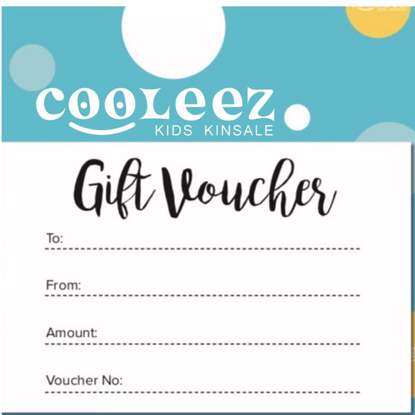 Cooleez Gift Card Voucher