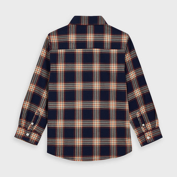 Mayoral Boy check shirt