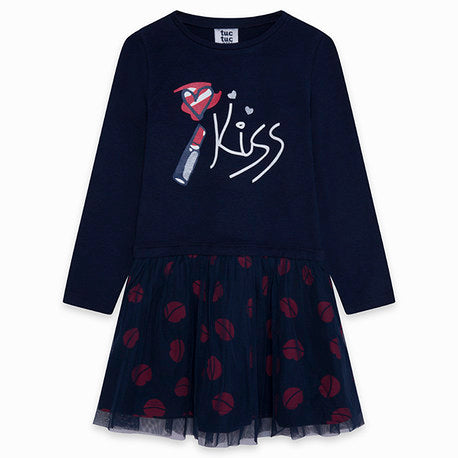 TucTuc Navy 'Kiss' Dress
