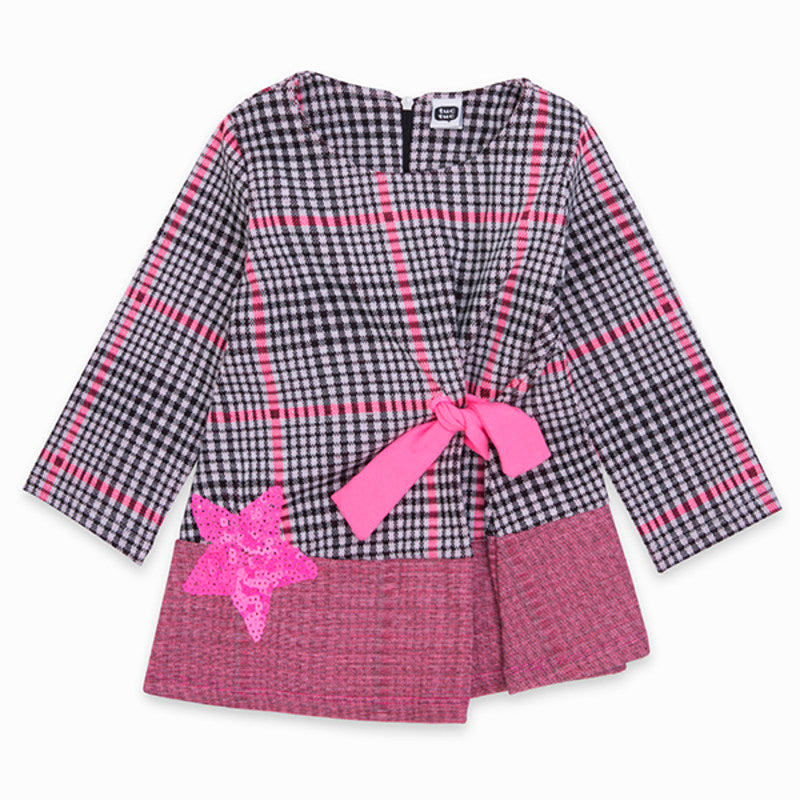 TucTuc Dress with Pink Bow