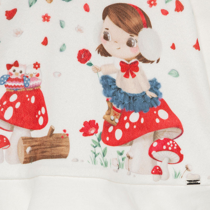 Mayoral Baby Girl Cream Toadstool
