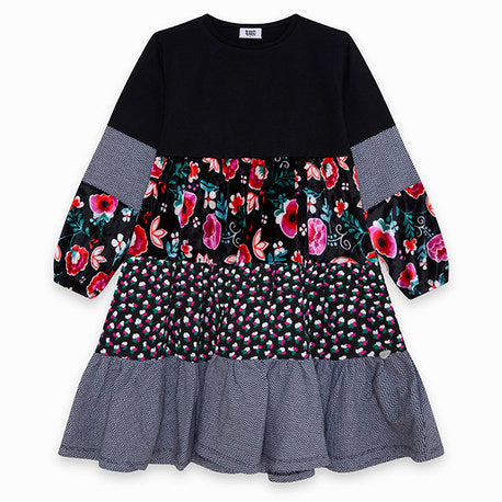 TucTuc Flower Tiered Dress