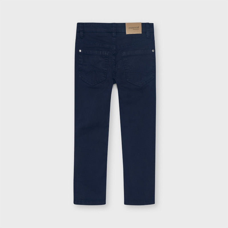 Mayoral Boy Navy Slim Fit Trousers