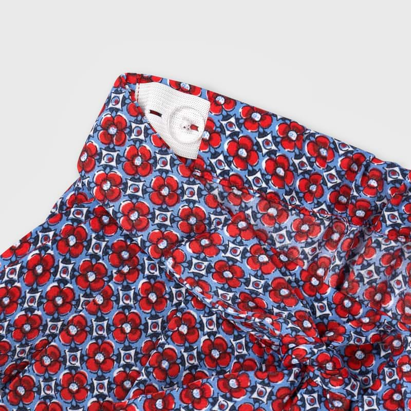Mayoral Girl Poppy Print Trousers