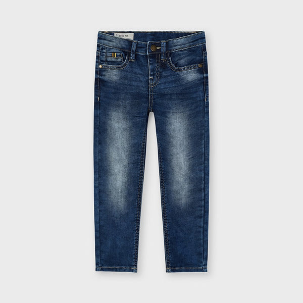 Mayoral Boy Slim Fit Soft Denims