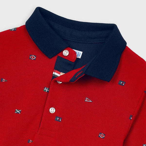 Mayoral Boy Red Polo