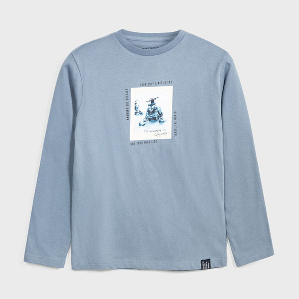 Mayoral Boy Pale Blue Tee