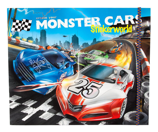 Monster Cars Sticker World