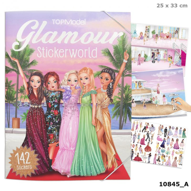 Top Model Glamour Sticker Book