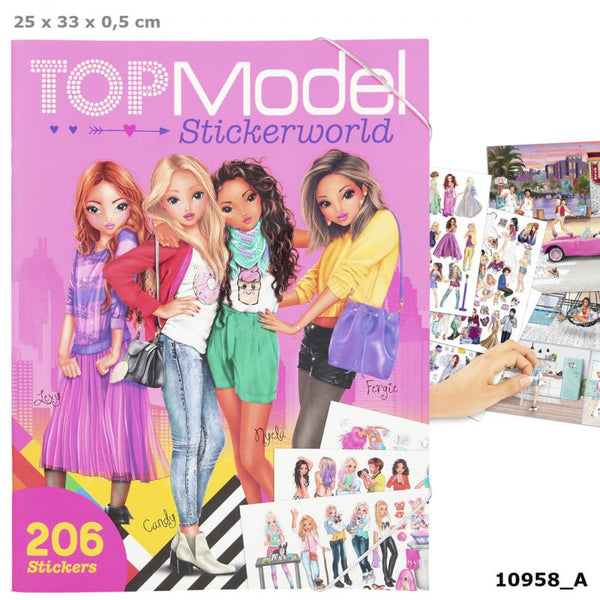 Top Model Sticker World