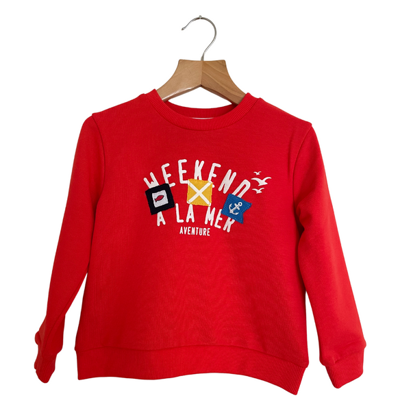 Weekend a La Mer Boy Belair Sweatshirt