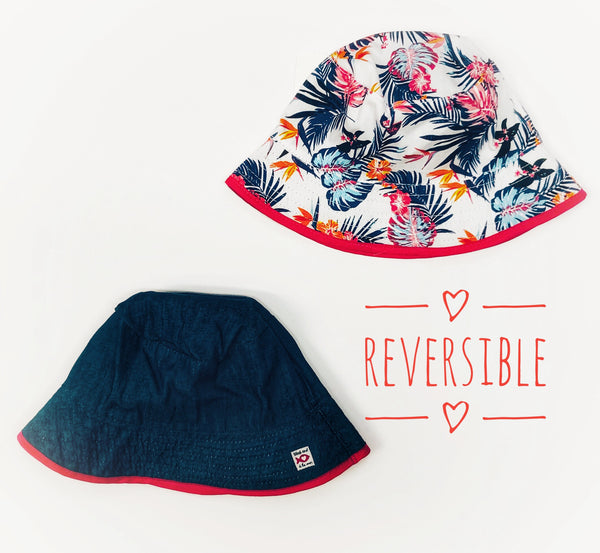 Weekend a la Mer Reversible Sun Hat