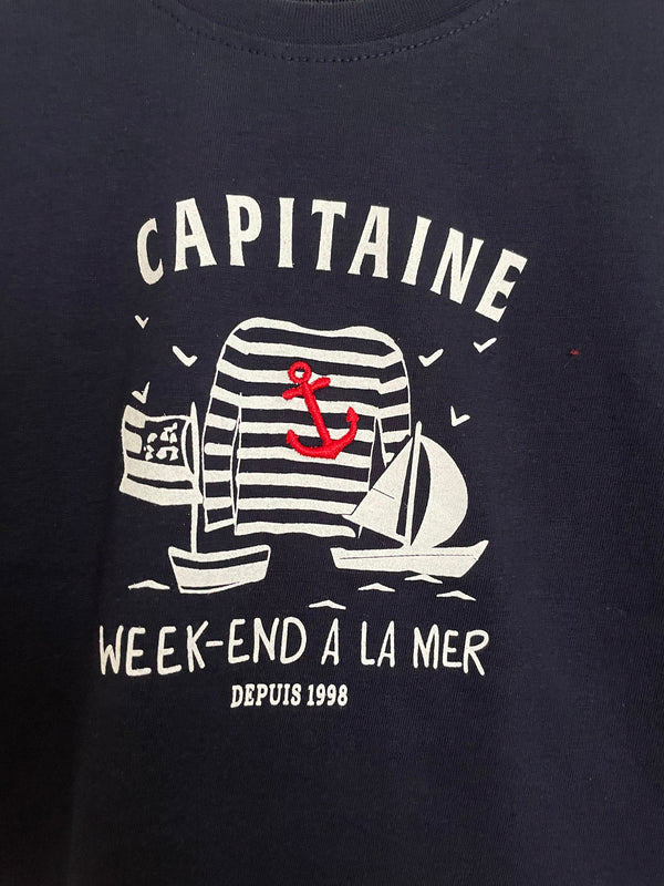Weekend a La Mer Boy Paisible Tee