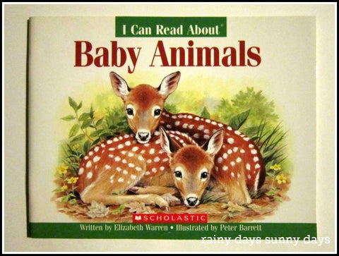 I Can Read About - Baby Animals