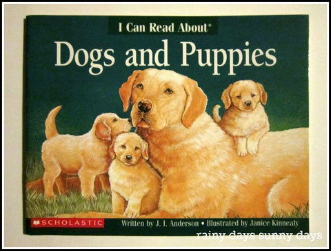 I Can Read About - Dogs and Puppies