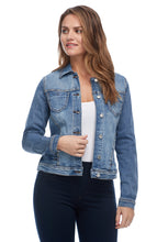 Load image into Gallery viewer, Studded Jean Jacket