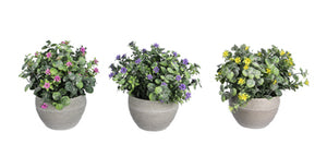 Artificial Flowers in Planter