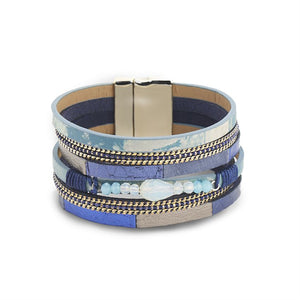 Nicola Bracelet - Multi Blues