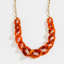 Load image into Gallery viewer, Clay Chunky Curb Chain Collar