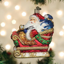 Load image into Gallery viewer, Santa in Sleigh