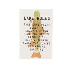 Load image into Gallery viewer, Lake Theme Cotton Hand Towel