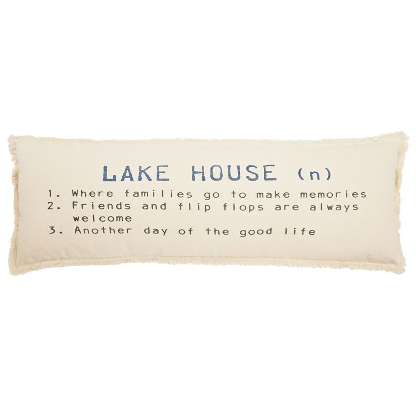 Lake House Definition Pillow