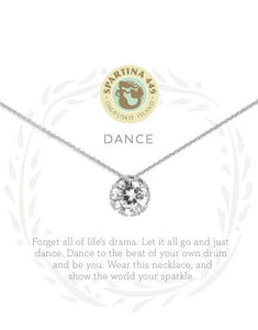 "Sea La Vie Necklace 18"" Dance/Gem SIL"