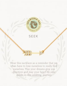 "Sea La Vie Necklace 18"" Seek/Arrow"
