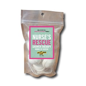 Nurses Rescue Shower Therapy Pouch 8 oz