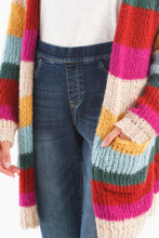 Load image into Gallery viewer, Striped Cardigan w/Pockets