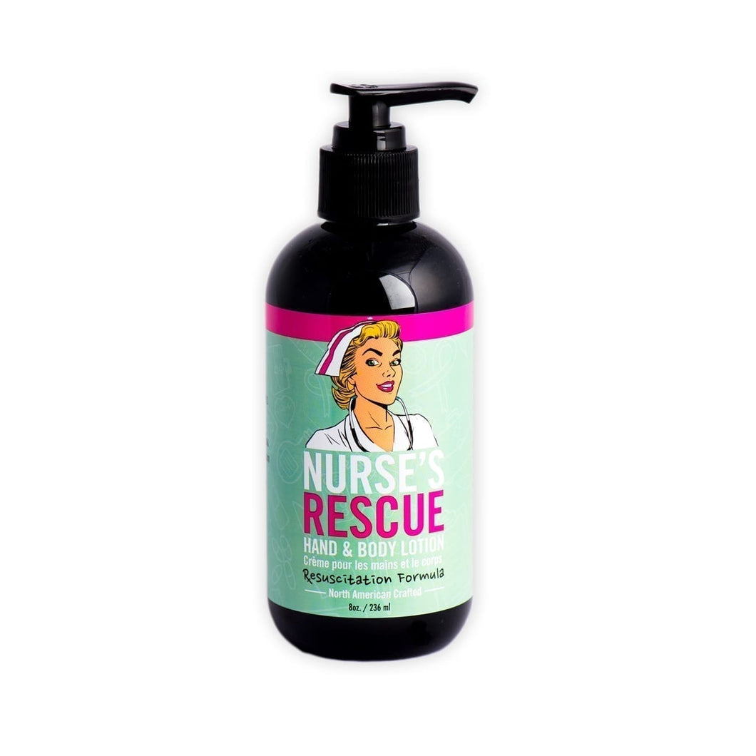 Nurse's Rescue Hand & Body Lotion Unscented 8 oz