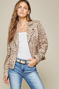 Leopard Printed Jacket