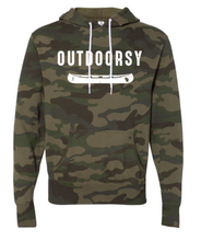 Load image into Gallery viewer, Forest Camo Outdoorsy Sweatshirt