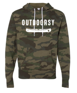 Forest Camo Outdoorsy Sweatshirt
