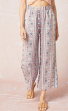 Load image into Gallery viewer, Aztec print wide leg pants